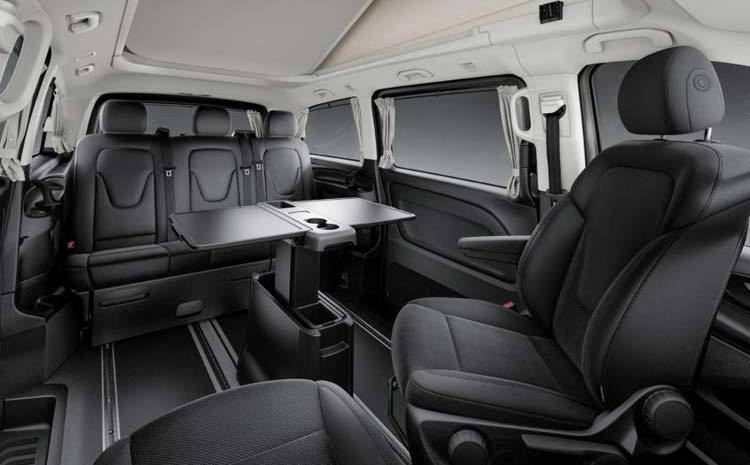 Salon Mercedes Vito Black